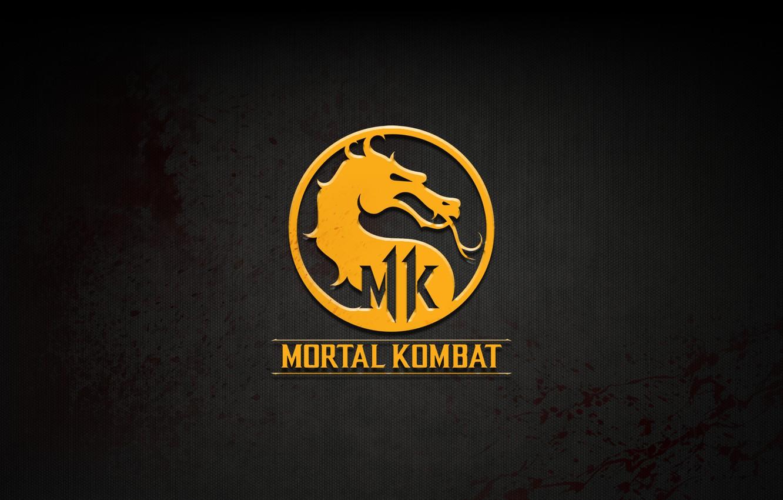 Обои логотип, смертельная битва, Mortal kombat x. Игры foto 13